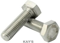 M4,M5,M6,M8 A2 Stainless Steel Hexagon Head Fully Threaded Set Screws,Bolts