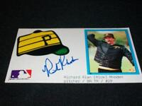 Pittsburgh Pirates Rick Rhoden Auto Signed 3x5 Index Card CM