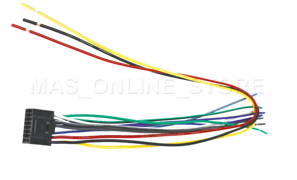 WIRE HARNESS FOR KENWOOD KDC-216S KDC-217 KDC-215S *PAY TODAY SHIPS