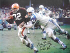 BOB LILLY SIGNED 8 x 10 PHOTO PROOF COA PRIVATE SIGNING *BUY AUTHENTIC*