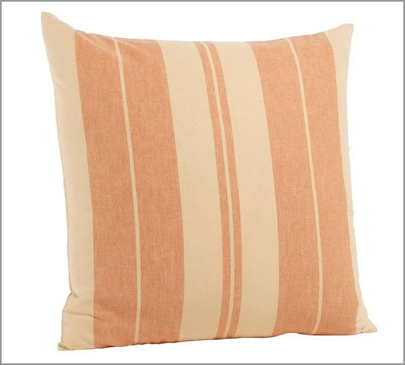 Pottery Barn Throw Pillow Green : POTTERY BARN ~ TONAL STRIPE PILLOW COVER ~ 20