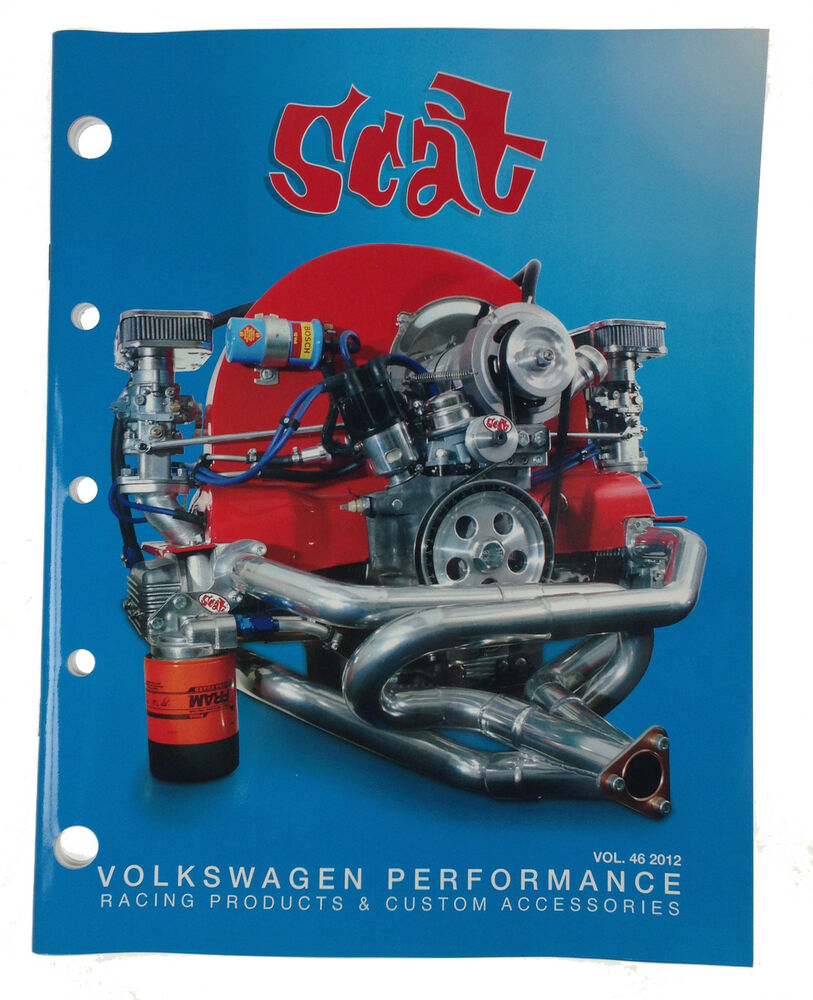 Classic Vw Beetle Engine Upgrades: Scat VW Beetle T1 Race Parts Catalogue Collectable Catalog