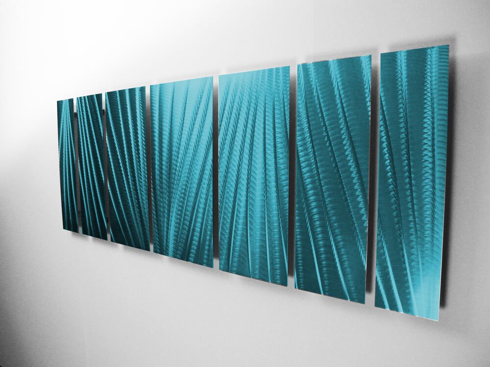 Modern abstract metal wall art painting sculpture home for Outdoor pool sculptures