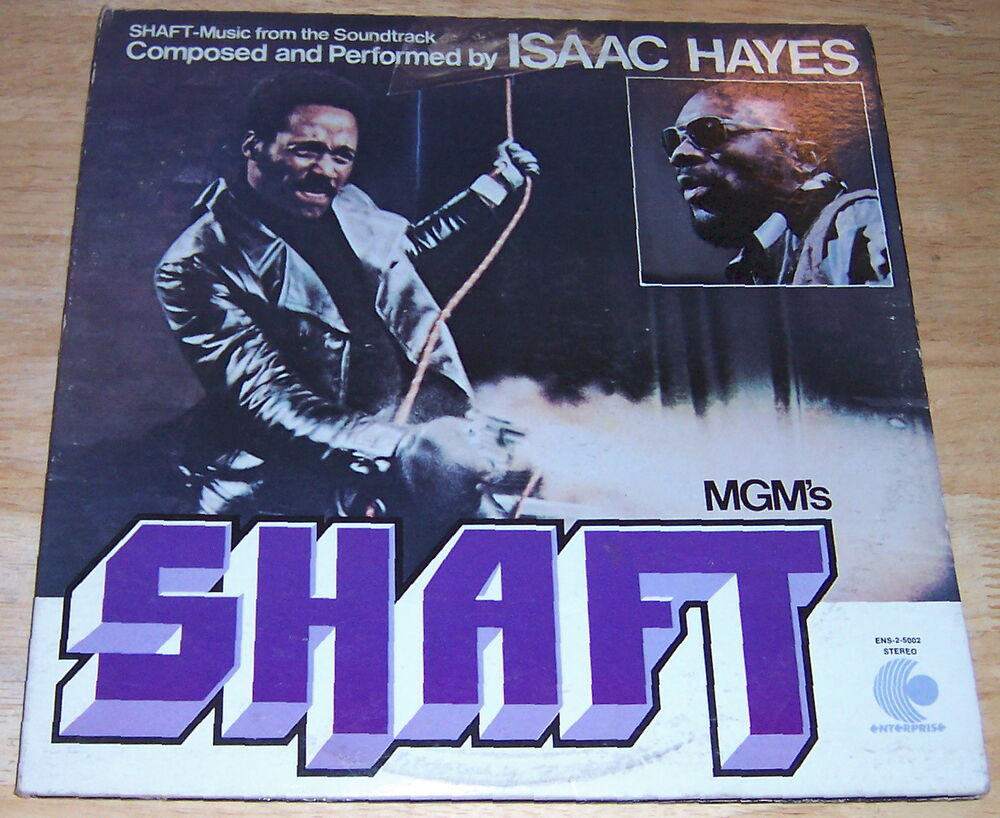 Shaft Record Album 1971 By Isaac Hayes Ebay