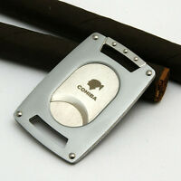 COHIBA Stainless Steel Double Blades Cigar Cutter #220SA
