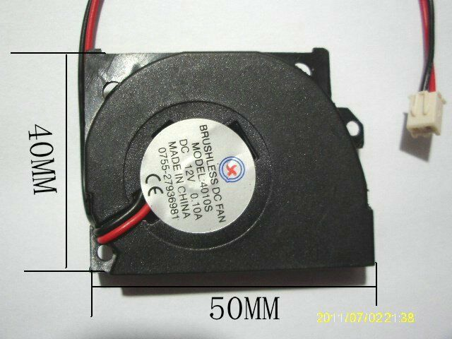 Quiet Blower Fan : Pcs ultra quiet s mm v brushless dc