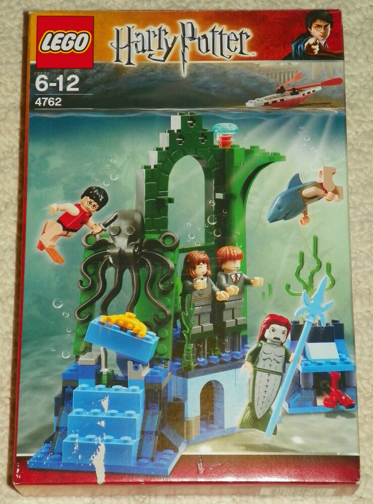 75 Chrome Shop >> LEGO 4762 - HARRY POTTER - Rescue from the Merpeople w ...