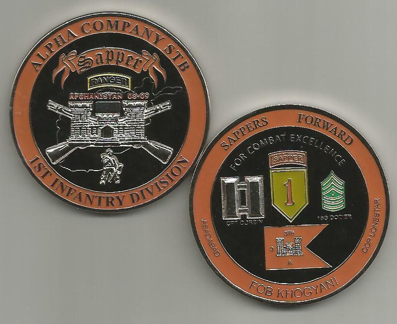 Us Army Alpha Company Stb 1st Infantry Division Challenge