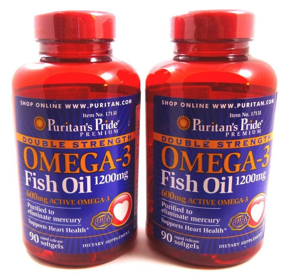 2x double strength omega 3 fish oil 1200 mg 600 mg active for Omega fish oil advanced support