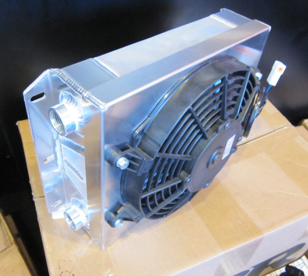 "Ebay Motors Fees >> CBR PERFORMANCE COOLING PRODUCTS SMALL OFF-ROAD OIL COOLER -10JIC W/ 9"" SPAL FAN 