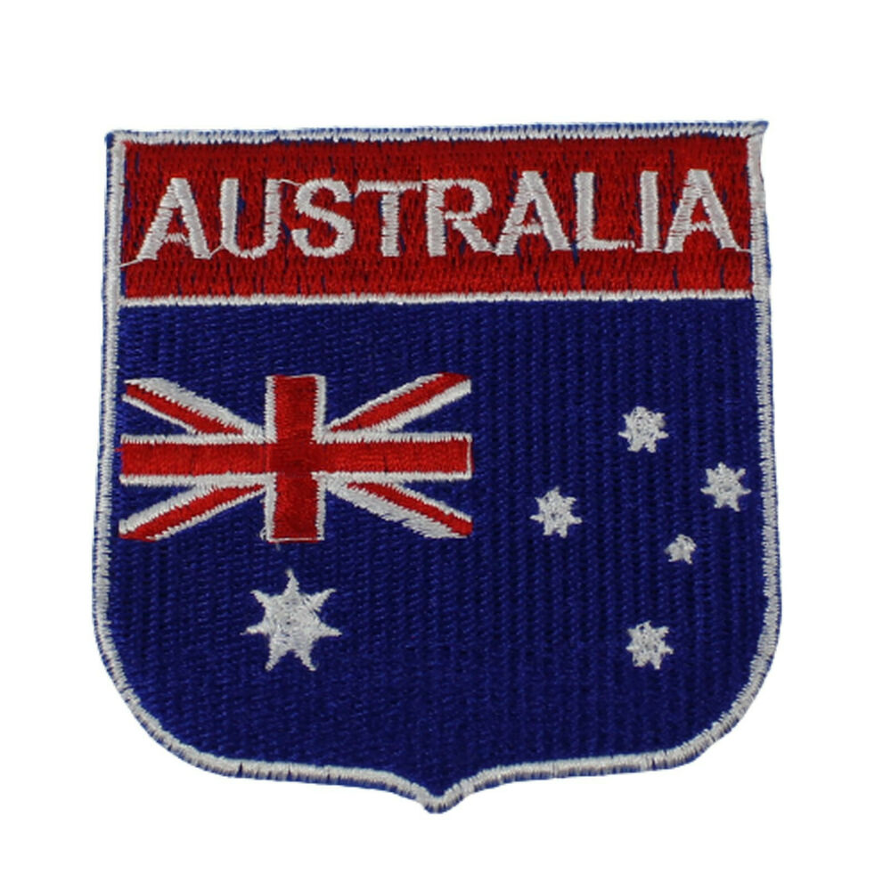 Backpack flag patches australia map