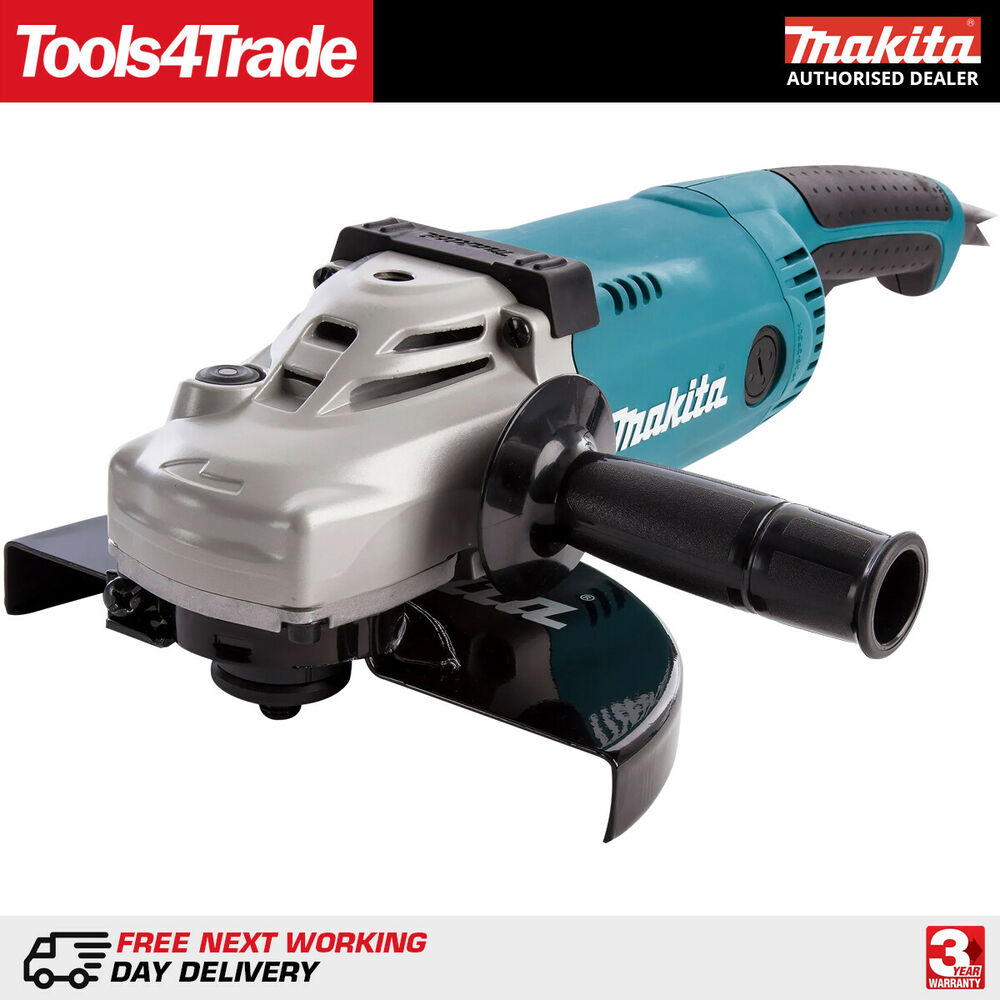 Commercial Electric Grinder Guards ~ Makita ga quot mm angle grinder w with wheel
