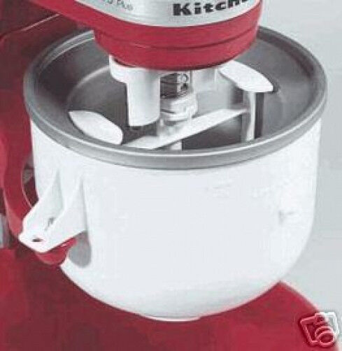 Kitchenaid kica ice cream frz yogurt sorbet maker stand - Gelato kitchenaid ...