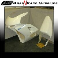 ZX6R 2000-2002 J1 J2  A16 RACE FAIRING & SEAT with Dzus Fastnersfitted