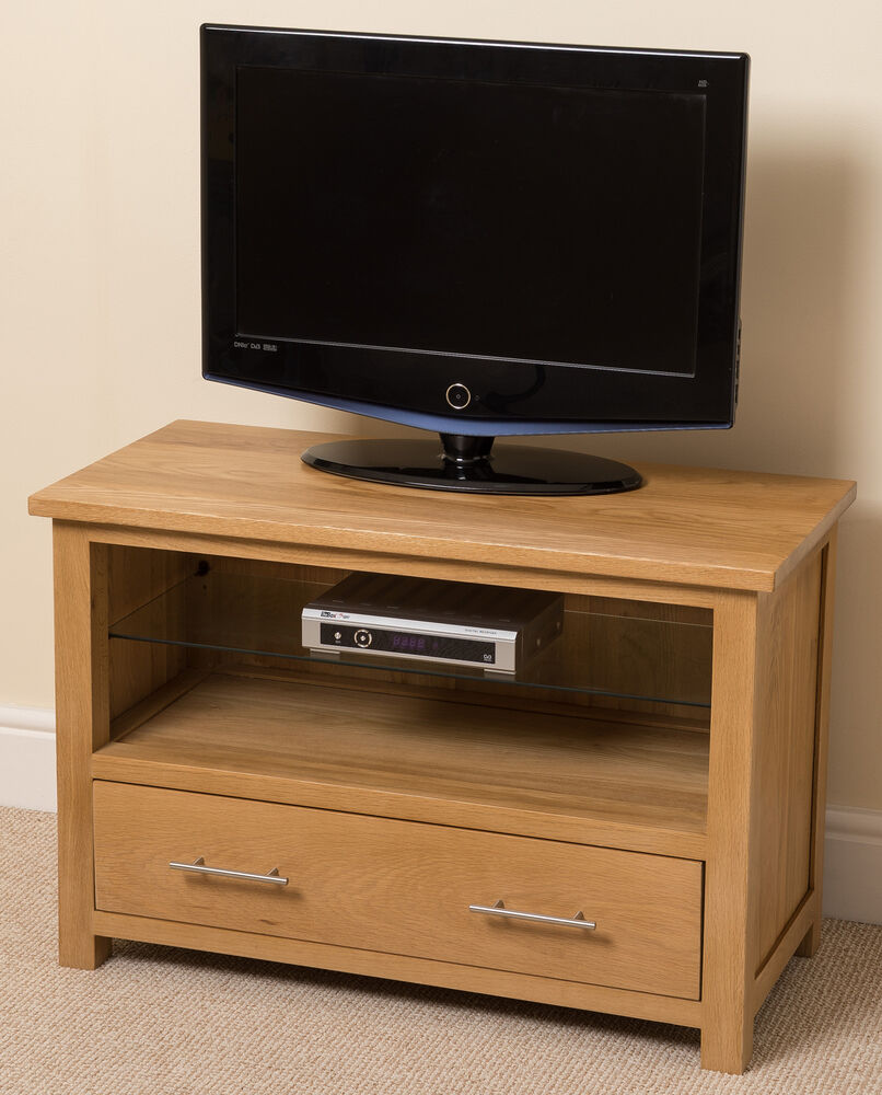 oslo 100 solid oak wood and glass tv hi fi stand cabinet. Black Bedroom Furniture Sets. Home Design Ideas