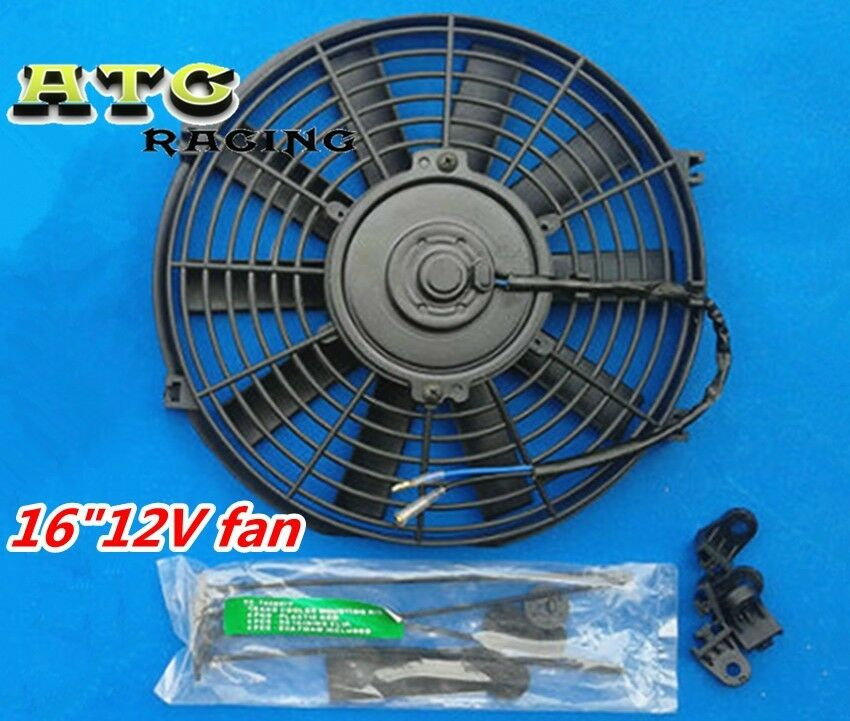 12v Cooling Fan : Quot v slim radiator cooling thermo fan mounting kit