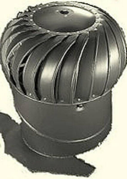Air Turbo Ventilator : Air vent quot mill finish aluminum turbine attic fan