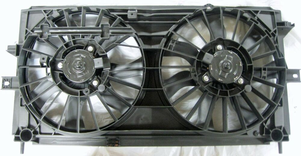 Dual Radiator Condensor Electric Fan Assembly Chevy Impala