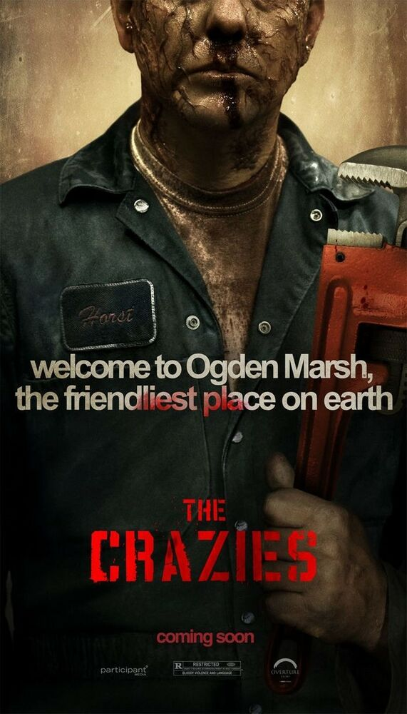 THE CRAZIES MOVIE POSTER 1 Sided ORIGINAL 26x39 TIMOTHY ...