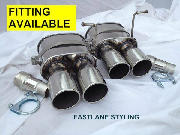 bmw x5 e53 diesel petrol stainless steel back box exhaust tip tail pipe ebay. Black Bedroom Furniture Sets. Home Design Ideas