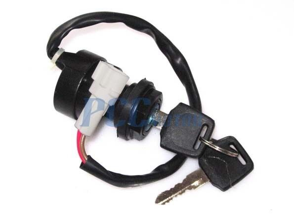 2 wire ignition key switch yamaha atv grizzly 350 yfm350 ... yamaha starter switch wiring yamaha starter motor wiring diagram