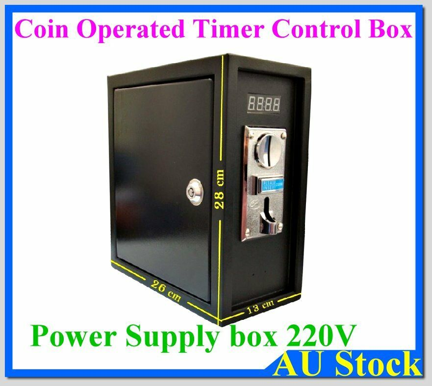 Coin operated Timer Control Power Supply box 220V for ...
