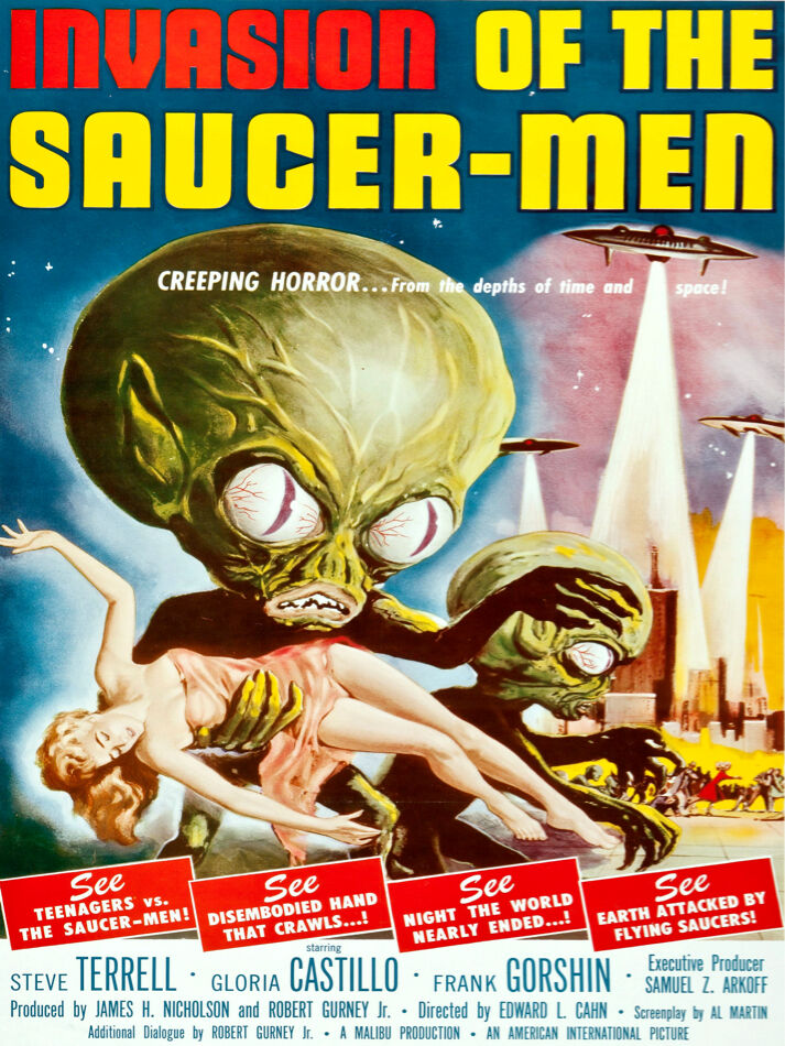 Ready invasion of the saucer men movie