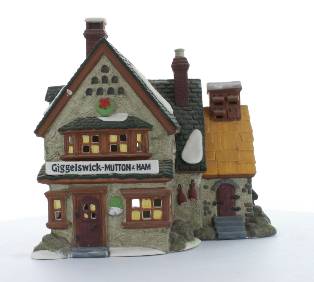 Department 56 Collectible Giggelswick Mutton Ham 1994