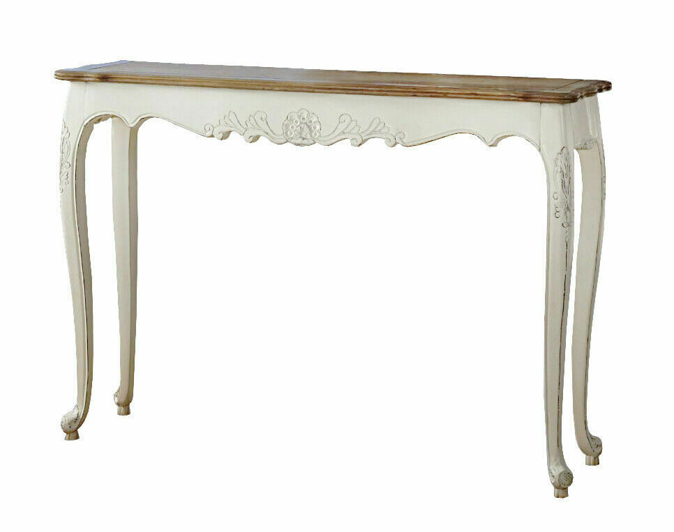French Provincial Furniture Hall Display Classic Vintage Style Console Table Ebay