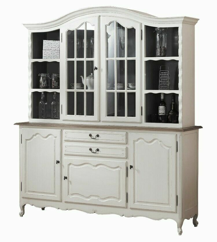 french provincial cabinet bookshelve glass display cabinet cupboard 1105