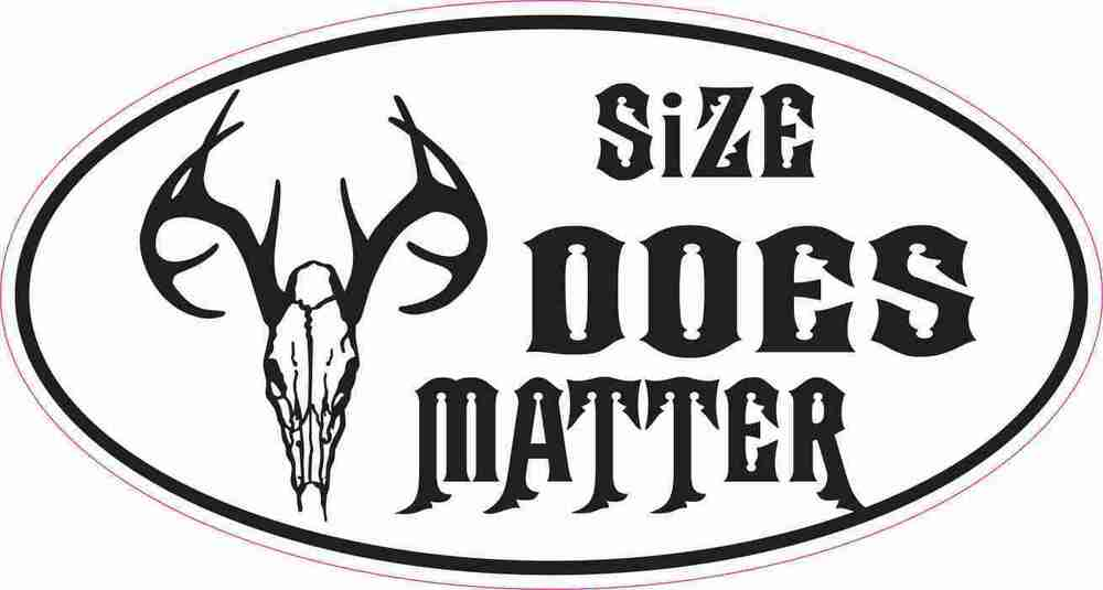 Hunter Deer Wildlife Decal Sticker Atv Funny Toolbox Car Size Does