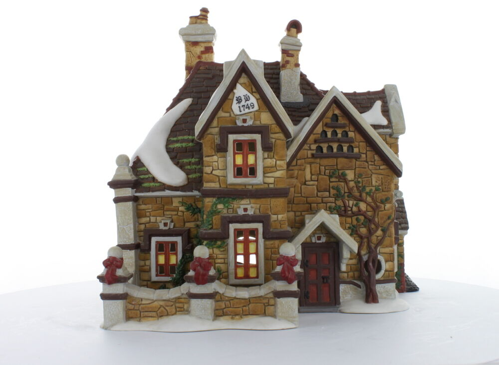 department 56 tattyeave knoll 1998 58311 dickens 39 village