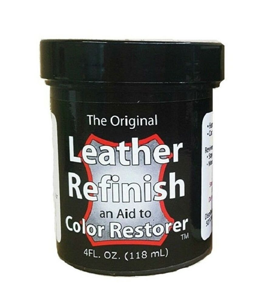 NEW Leather ReFinish Amp Color Restore Dye 43 Colors