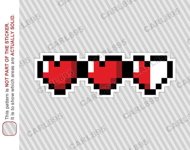 Legend of Zelda 8Bit Heart Paperweight  amazonde