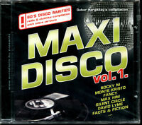 MAXI DISCO VOL.1 - FIRST PRESSING  - CD ITALO - RARE
