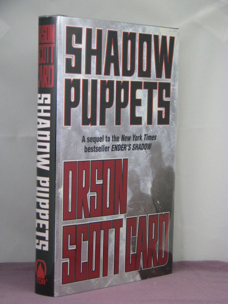 1stsigned By Author Enders Shadow 3shadow Puppets By Orson Scott