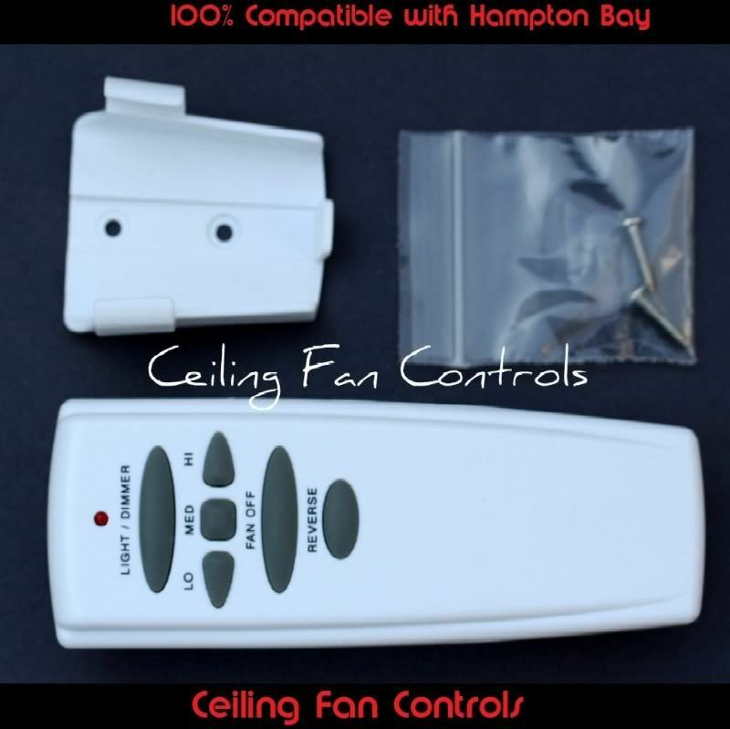 Replacement For Hampton Bay Reverse Ceiling Fan Remote