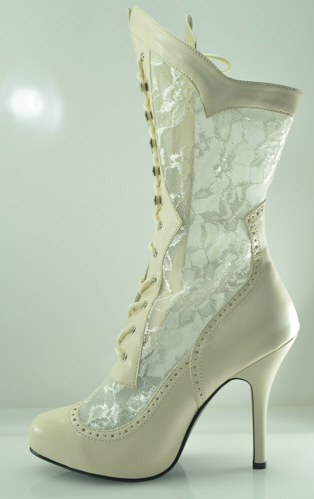 Wide Width Lace Wedding Shoes