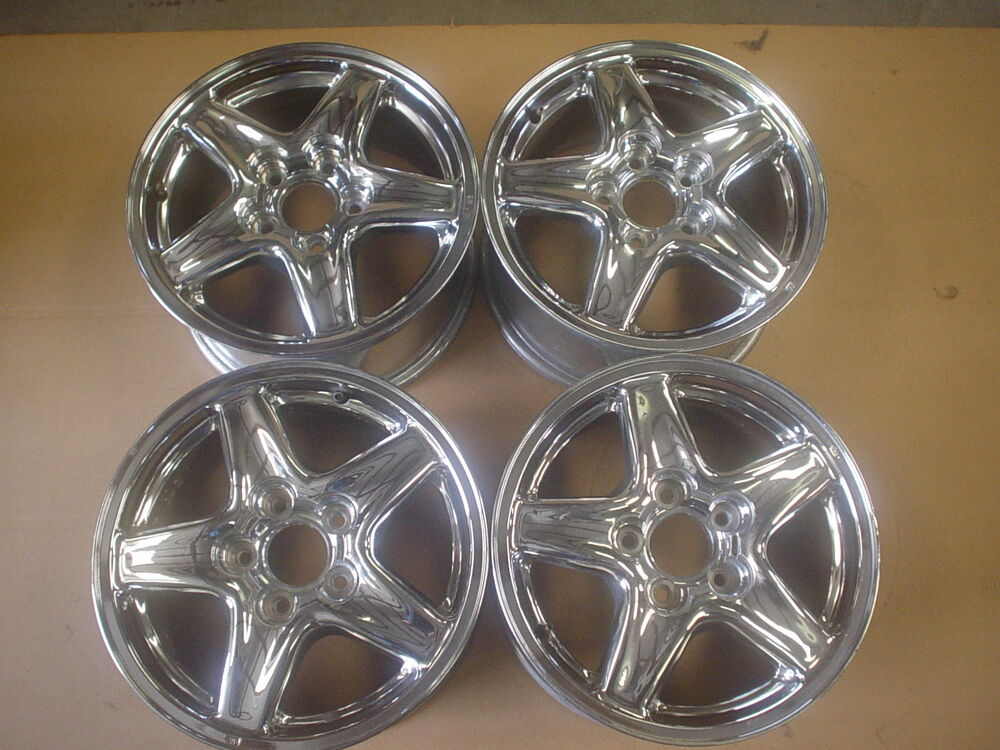 97 99 Camaro Rs Z28 Wheels Chrome 16x8 Set Of 4 817 5 Ebay