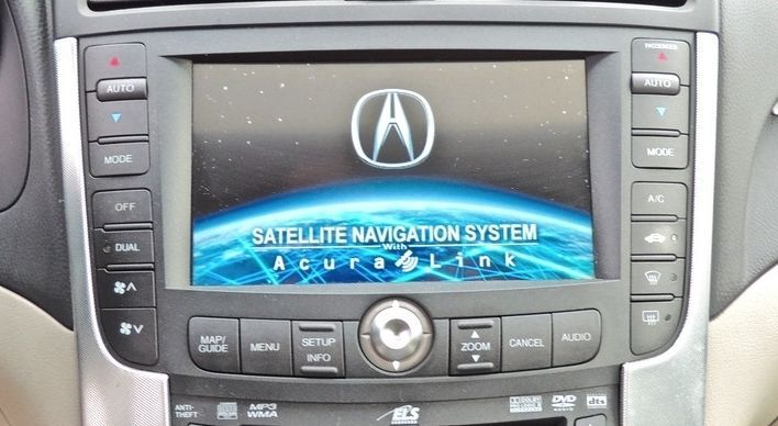 2007 Acura Tl Type S Navigation >> 07 08 ACURA TL S-TYPE GPS LCD Screen NAVIGATION Radio ...