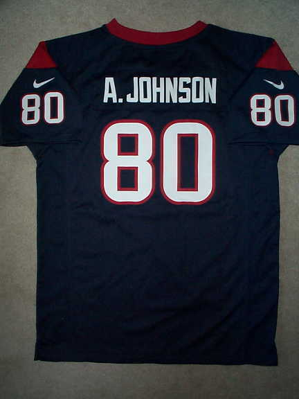 71b66219e NIKE Houston Texans ANDRE JOHNSON nfl Jersey YOUTH KIDS BOYS (m-medium)