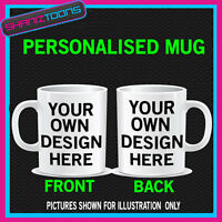 PERSONALISED MUG DESIGN GIFT IDEA TEXT PICTURE LOGO