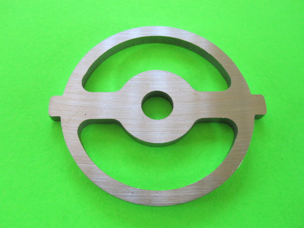 2 Hole Kidney Sausage Stuffing Plate For Kitchenaid Fga