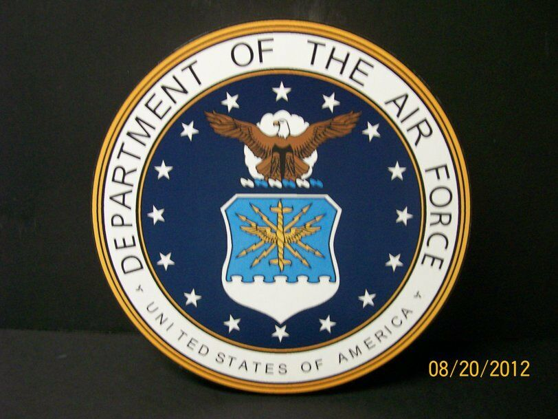 united states air force military wall plaque ebay. Black Bedroom Furniture Sets. Home Design Ideas