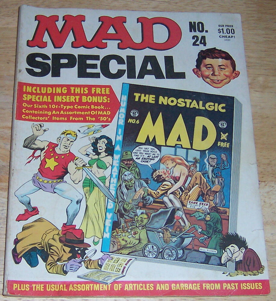 Mad Magazine Special, No. 24; 1977 (Includes Comic Book