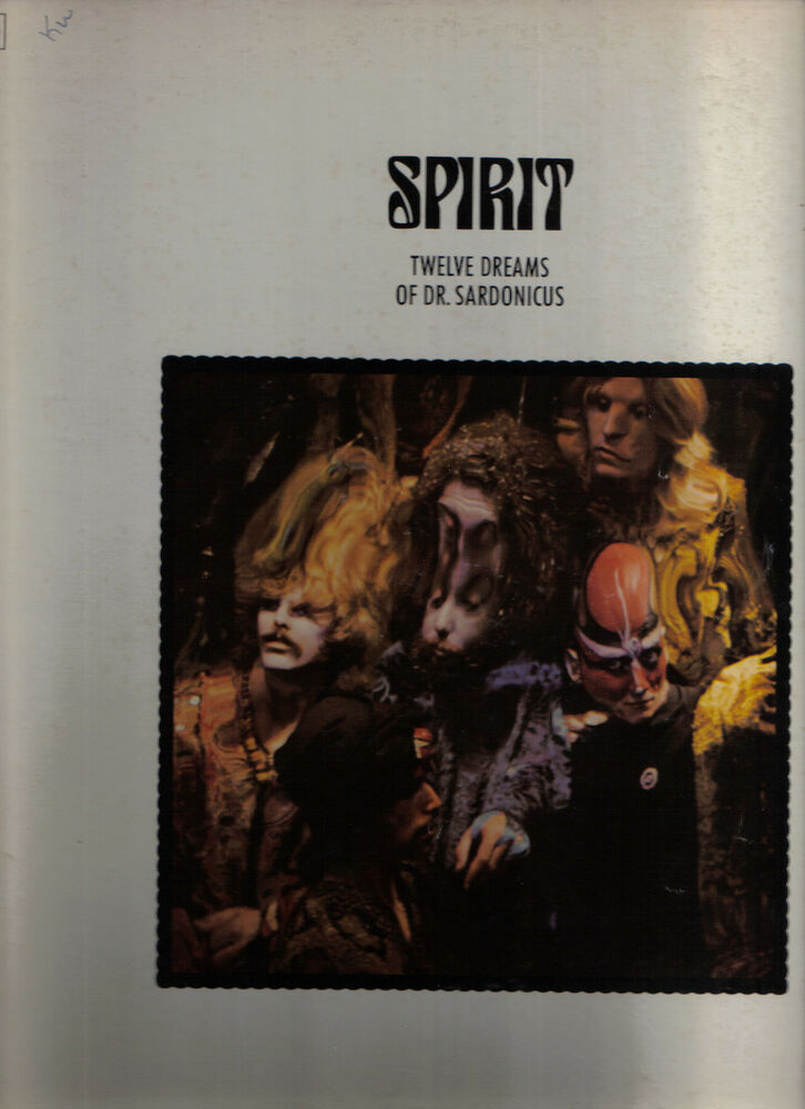 Spirit Vinyl Lp Epic Records 1970 Pe 30267 Twelve Dreams