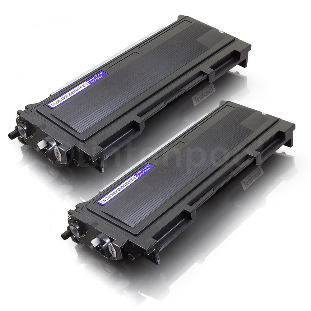 2x rebuilt toner f r brother tn 2005 hl 2035 hl 2037 ebay. Black Bedroom Furniture Sets. Home Design Ideas