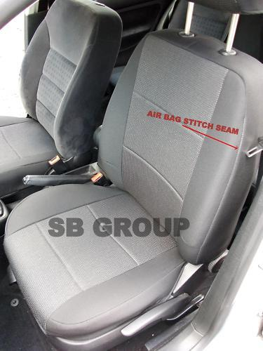 toyota corolla verso car seat covers custom fit full complete set brand new ebay. Black Bedroom Furniture Sets. Home Design Ideas
