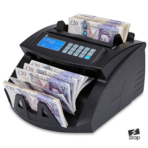 Bank note banknote money currency counter count fake detector pound cash machine ebay - Coin bank that counts money ...