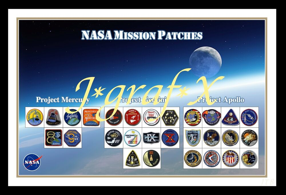 nasa patches poster - photo #1